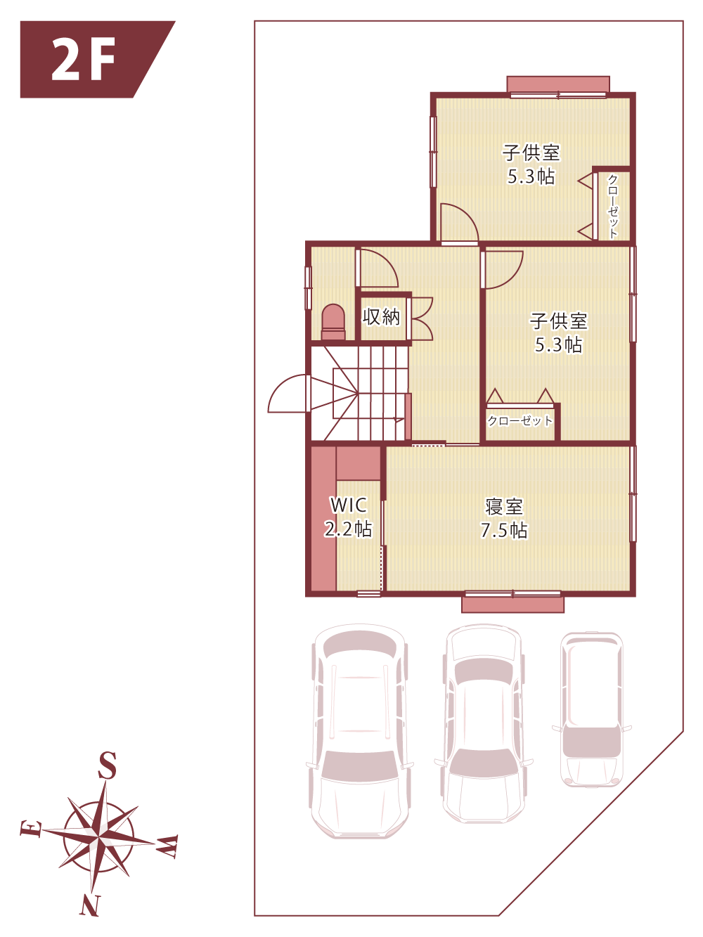 新築分譲住宅_HIGH-CLSS_floorplan_2f