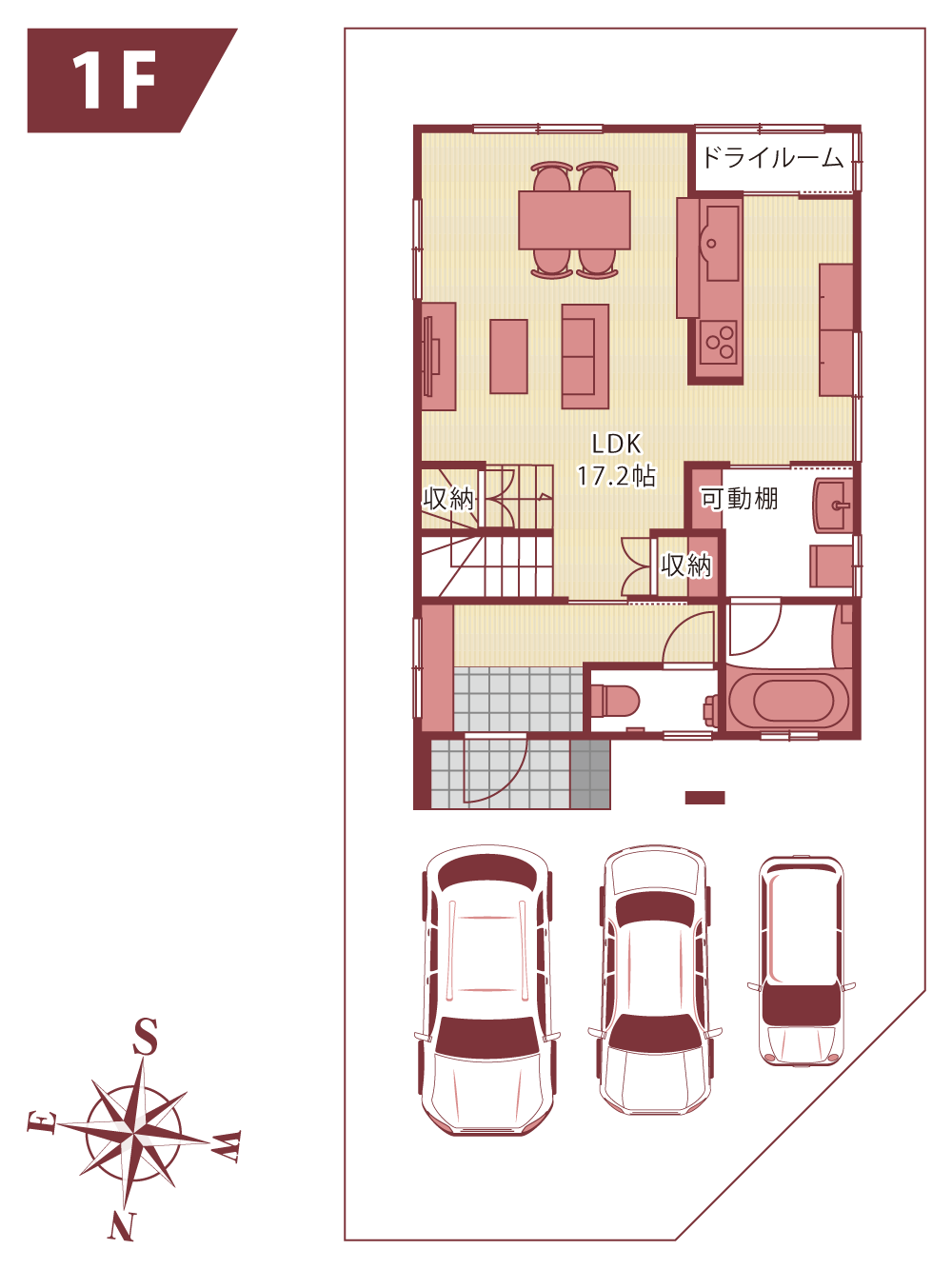 新築分譲住宅_HIGH-CLSS_floorplan_1f